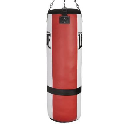 KING SIZE boxovací pytel červený / bílý