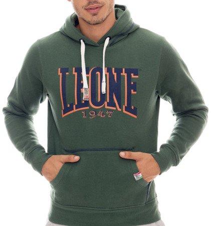 LEONE - HOODED SWEATSHIRT [LSM1501_C.ZIELONA]