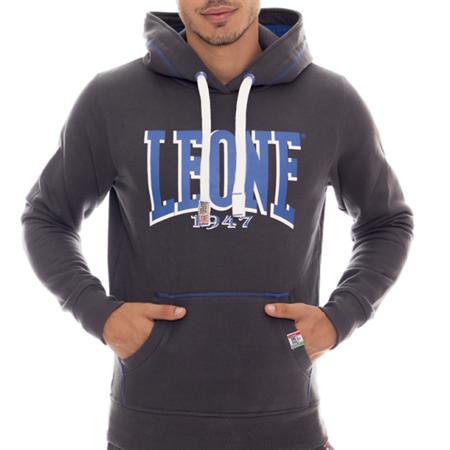 LEONE - HOODED SWEATSHIRT [LSM1501_STALOWA]