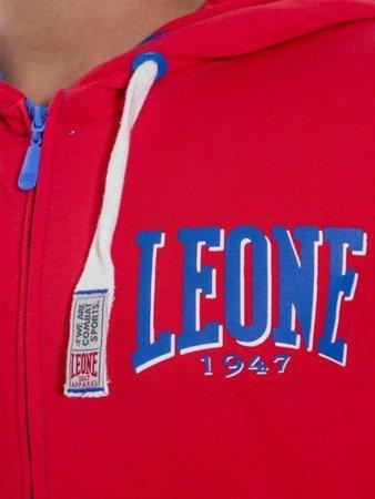 Pánská mikina s kapucí na zip LEONE M [LSM1658]
