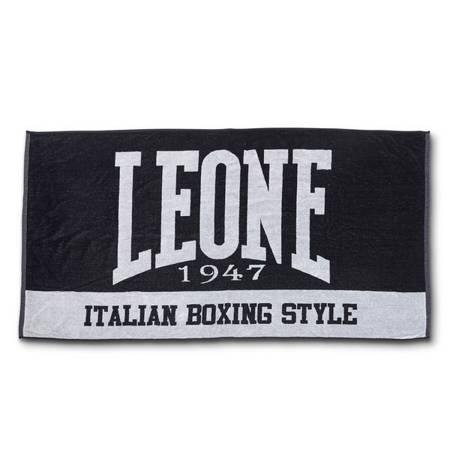Ručník Leone1947 černý [AC916]